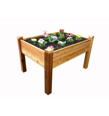 Elevated 4 x 3 Garden Bed